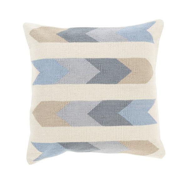Native American Pattern Pillow - Beige