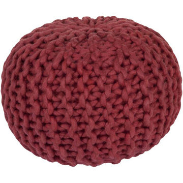 Fargo Pouf - Bright Red