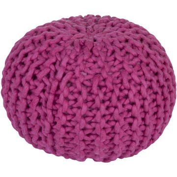 Fargo Pouf - Bright Purple
