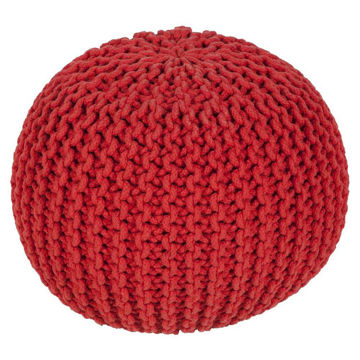 Malmo Pouf - Bright Red