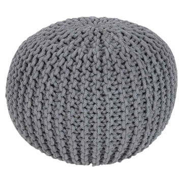 Malmo Pouf - Medium Gray