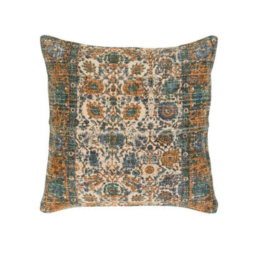 Shadi Woven Pillow - Orange