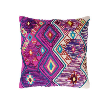 Splendid Bright Pink Pillow