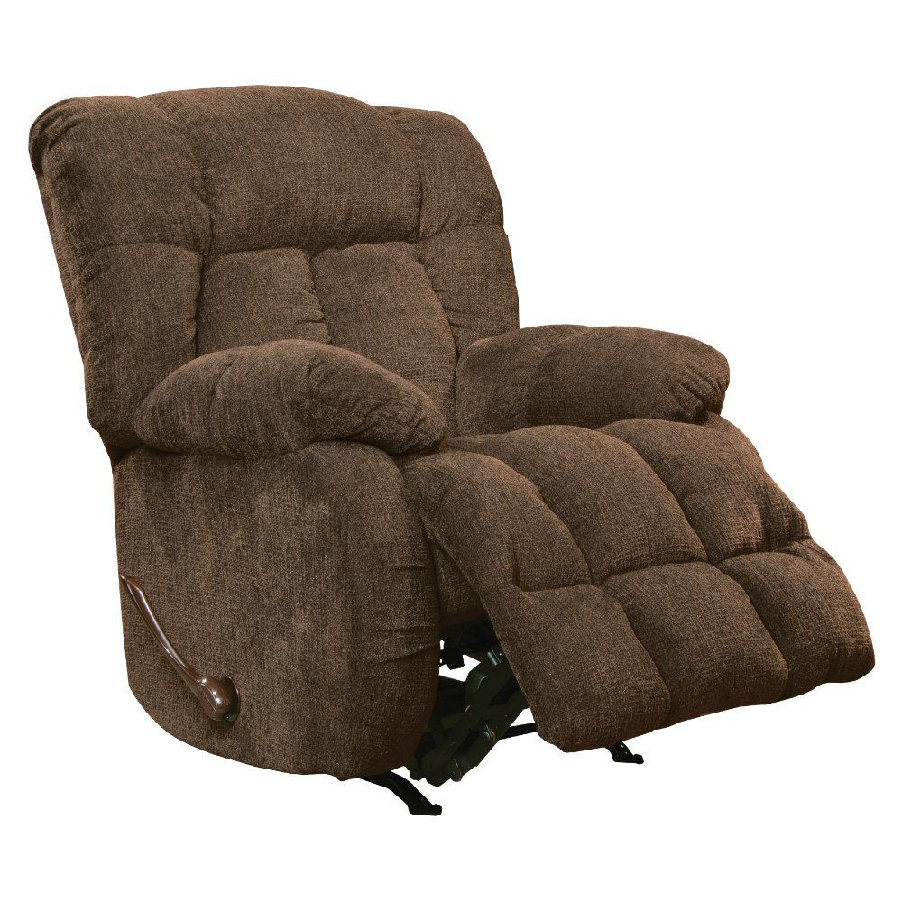 Bell Rocking Recliner - Chocolate - Open