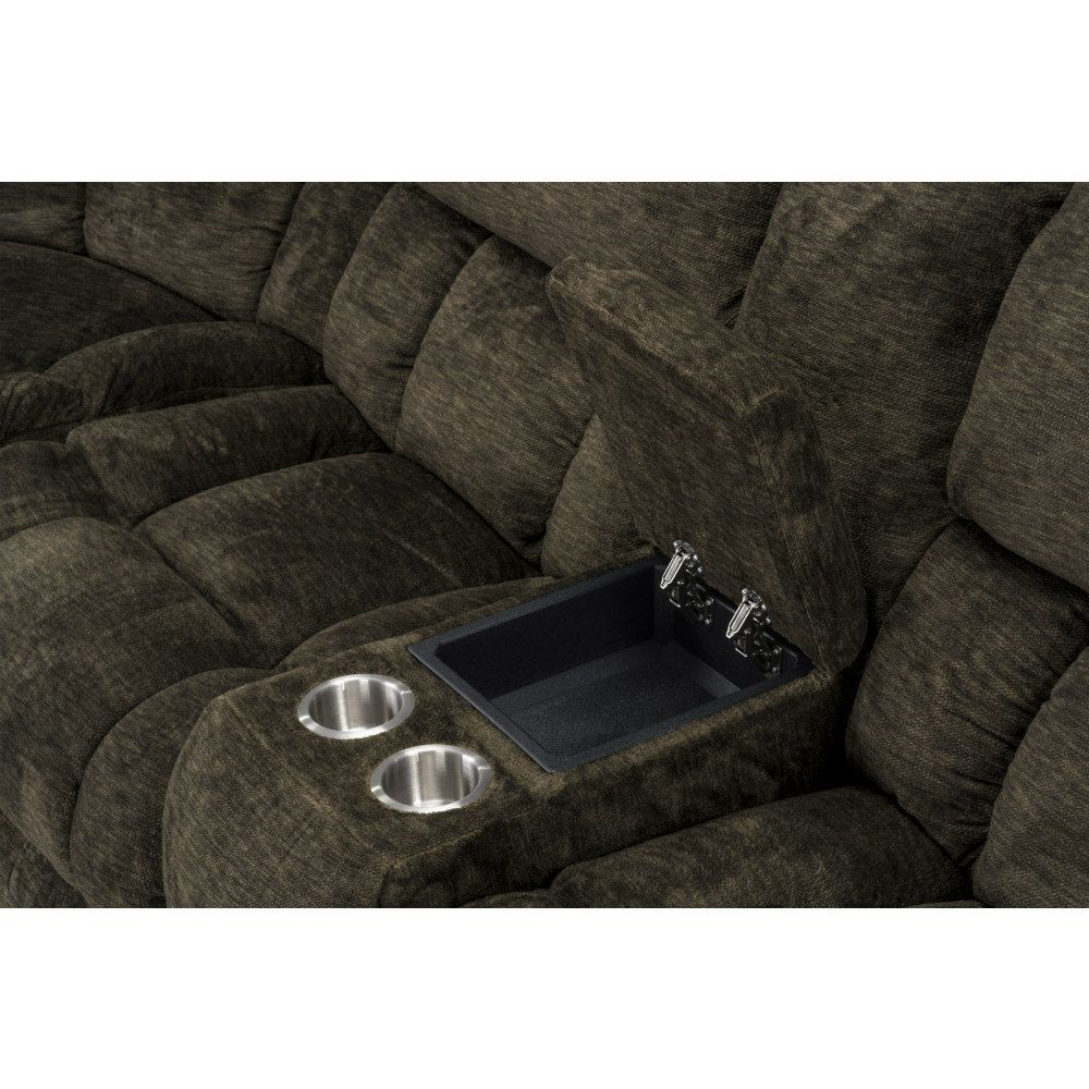 Sammy 7-Piece Sectional - Console Detail