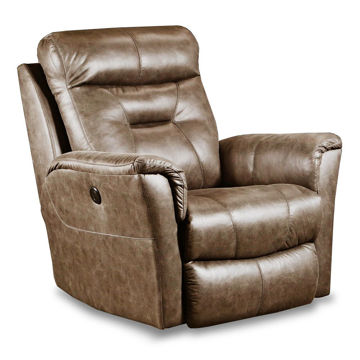 Joey Power Recliner - Brown