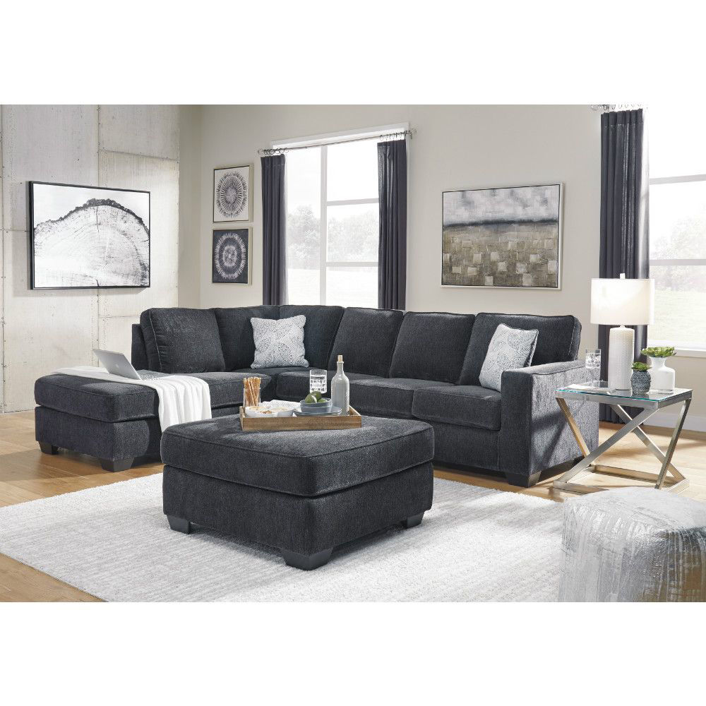Joshua 2-Piece Sectional - Slate - Collection