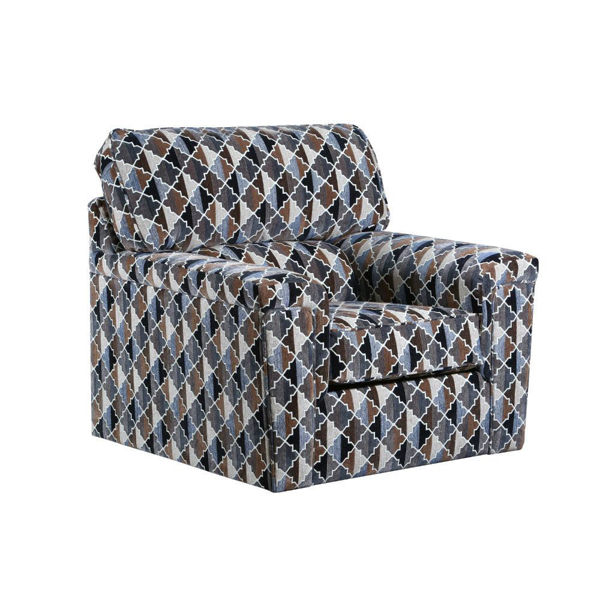Picture of Aztec Swivel Chair - Mocha