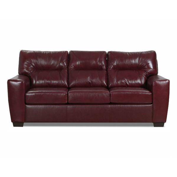 Chama Queen Sleeper Sofa - Red