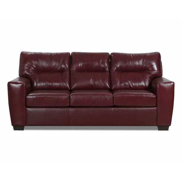 Chama Queen Sleeper Sofa - Red