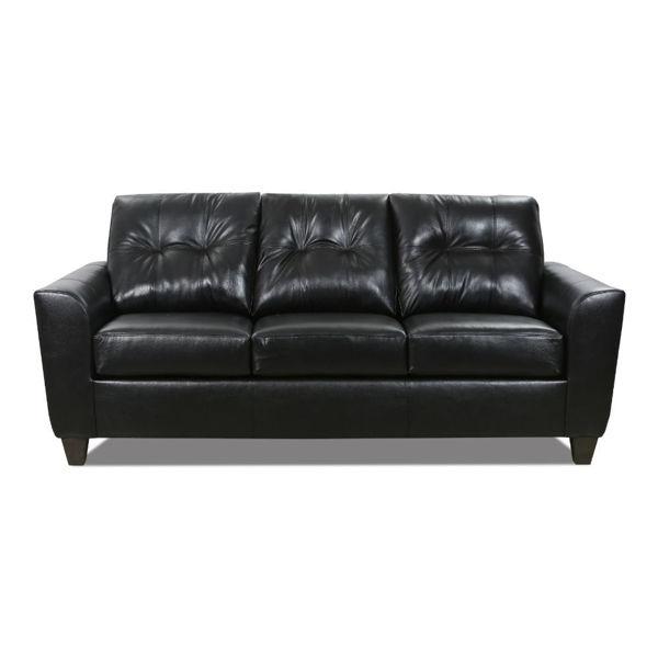 Eunice Queen Sleeper Sofa - Onyx