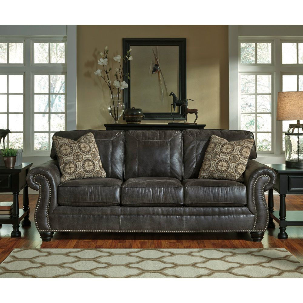 Breville Sofa - Charcoal - Lifestyle
