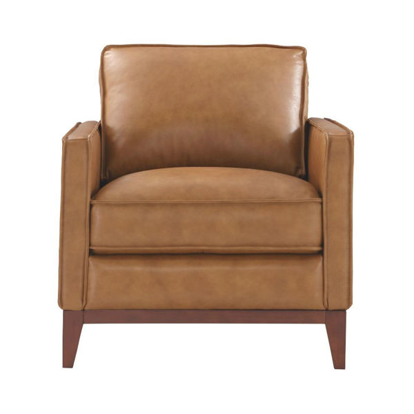 Picture of Novara Leather Chair - Camel