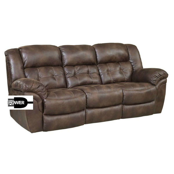 Picture of Washington Power Reclining Sofa - Espresso