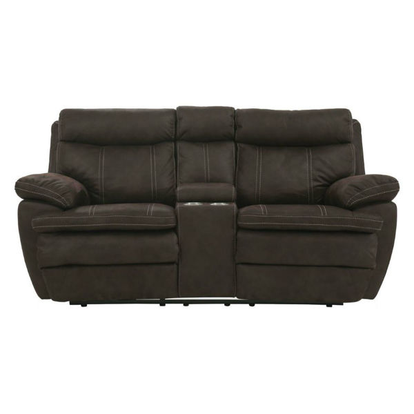Kaden Power Reclining Console Loveseat