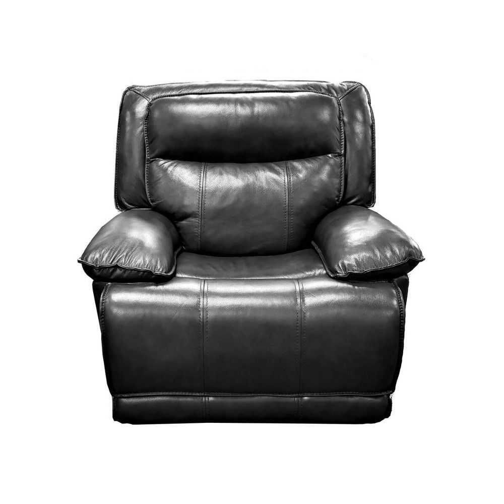 KM030 Power Recliner - Gray - Front