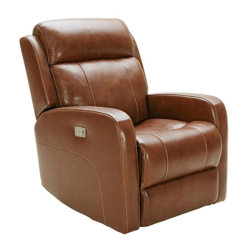 Vail Power Reclining Swivel Glider - Brown