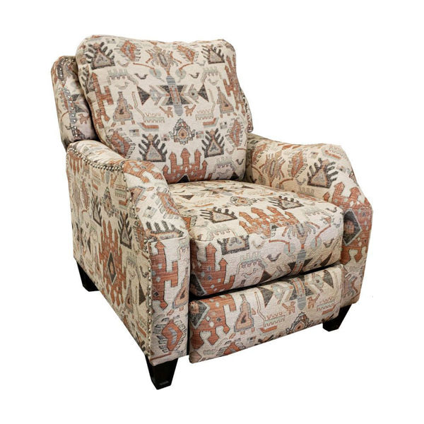 Primrose Power Hi Leg Recliner - Cinnamon