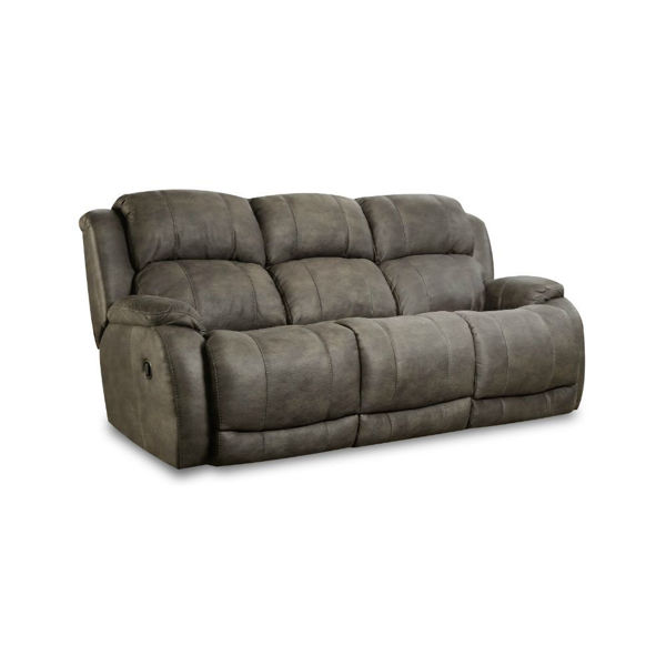Picture of Burro Reclining Sofa - Cognac