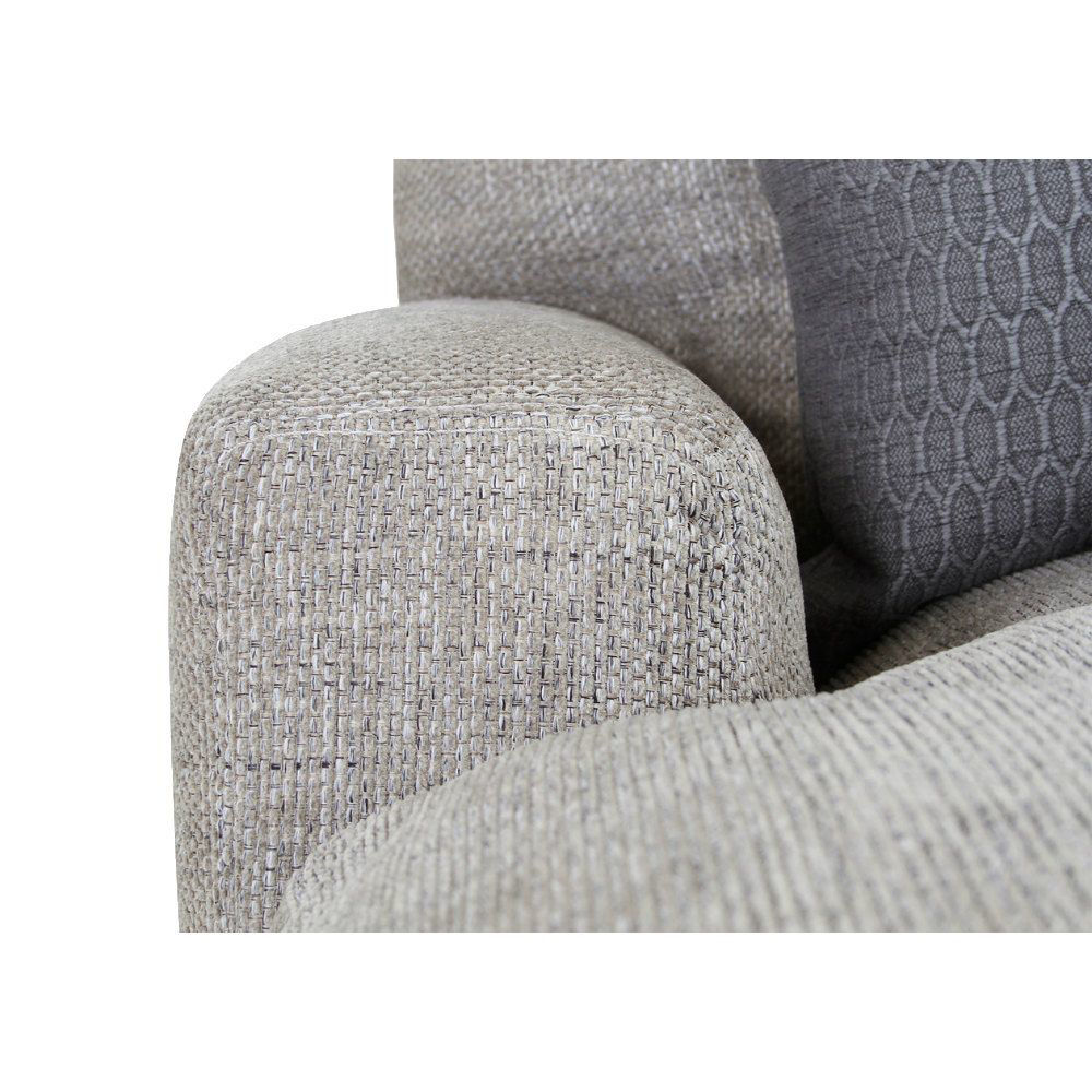 Smoky 5-Piece Sectional - Arm Detail