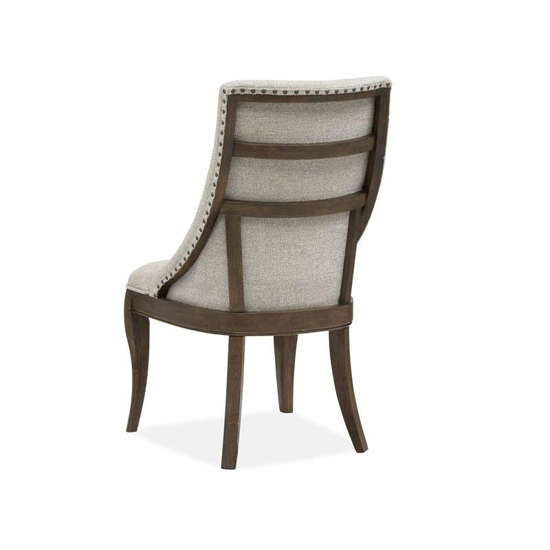 Roxbury Manor Upholstered Dining Chair - Rear Angle