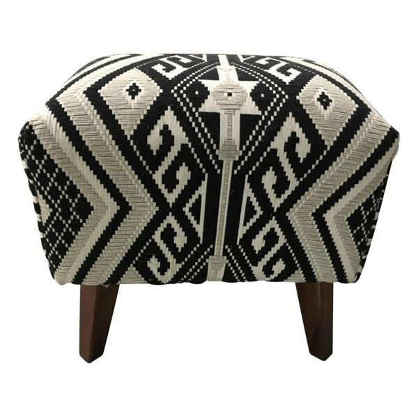 Amory Upholstered Accent Table