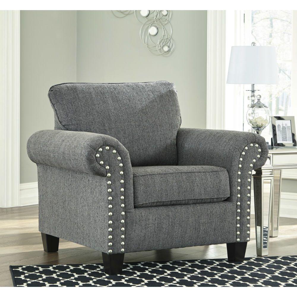 Zeke Chair - Charcoal - Lifestyle