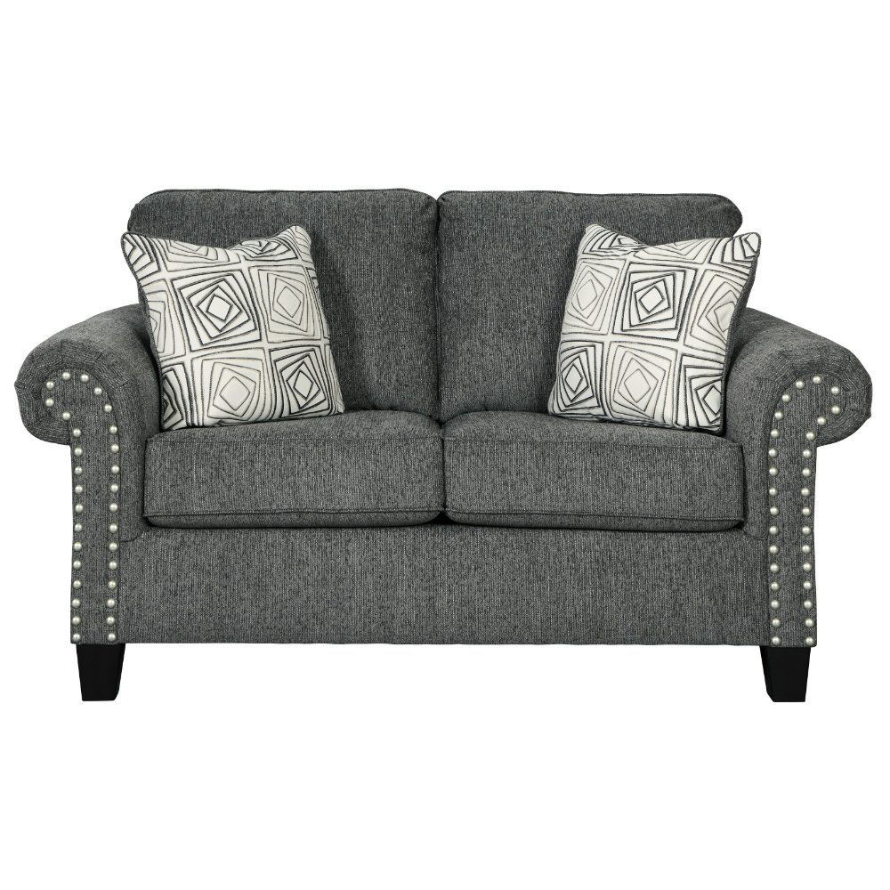 Zeke Loveseat - Charcoal