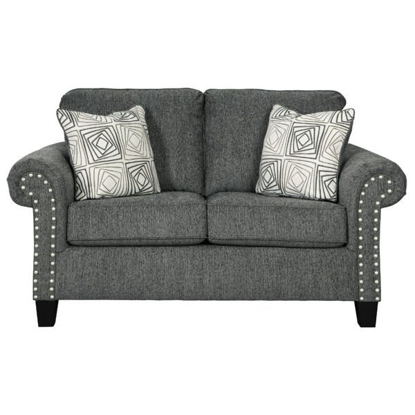 Picture of Zeke Loveseat - Charcoal