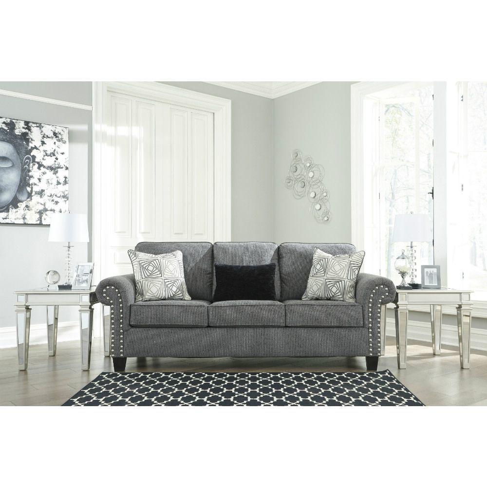 Zeke Sofa - Charcoal - Lifestyle