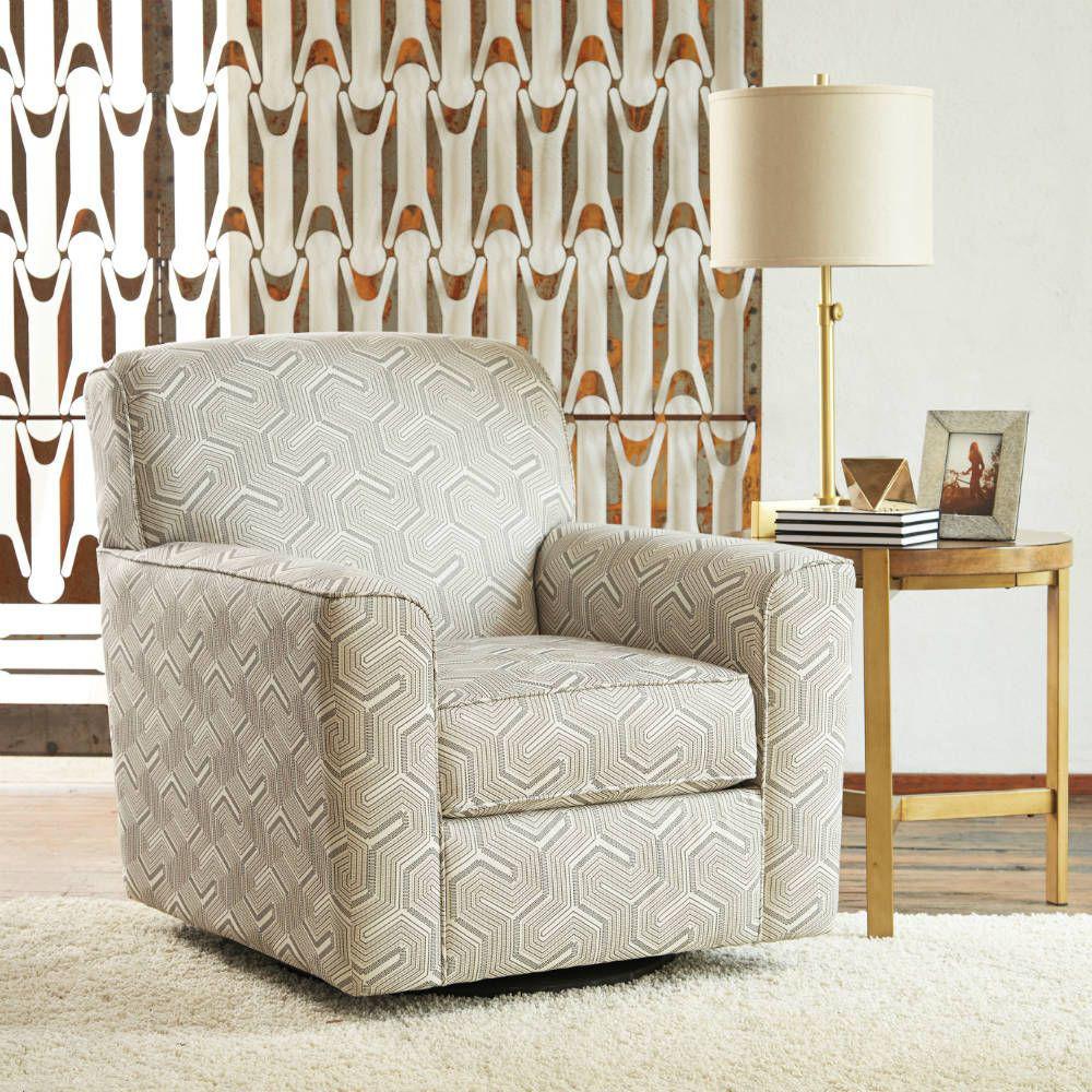 Zuri Swivel Chair - Lifestyle