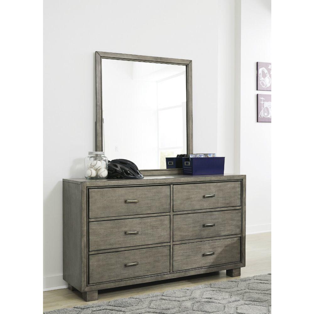 Leander Dresser and Mirror