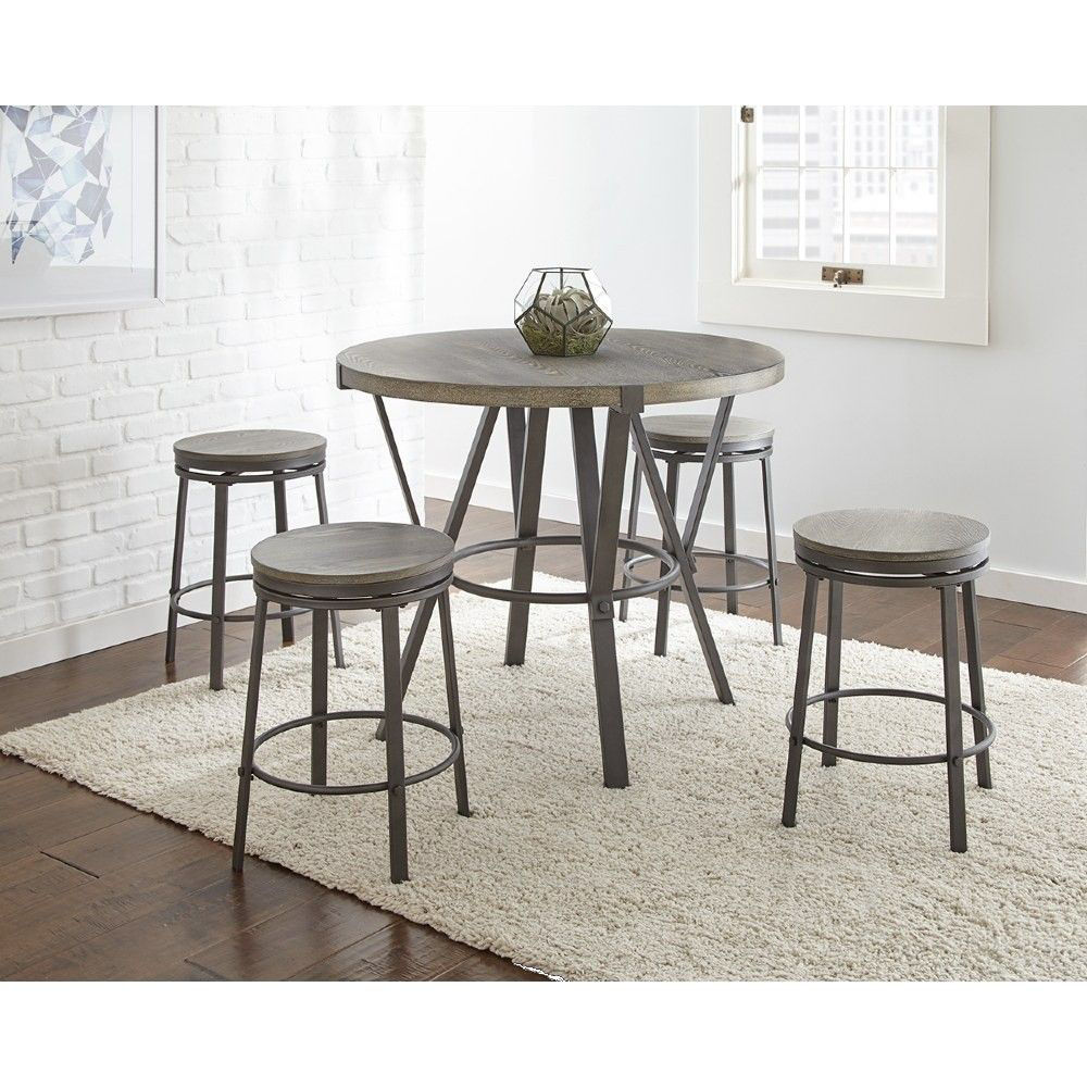 Picture of Portland 5-Piece Counter Dining Set