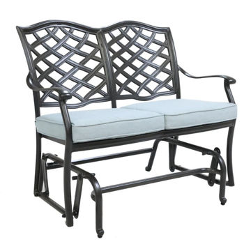 Halsey Bench Glider with Cushion