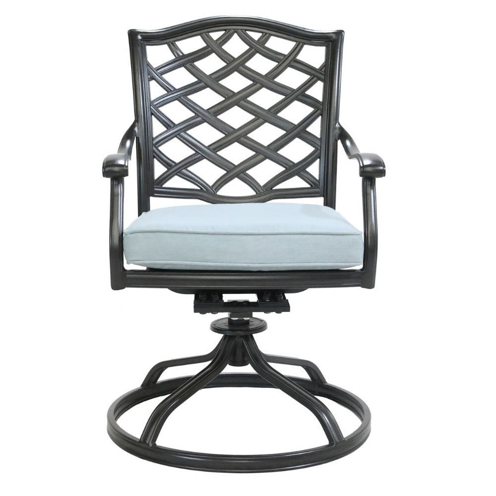Halsey Swivel Rocker with Cushion - Front