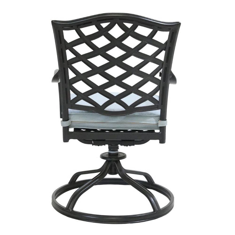 Halsey Swivel Rocker with Cushion - Back