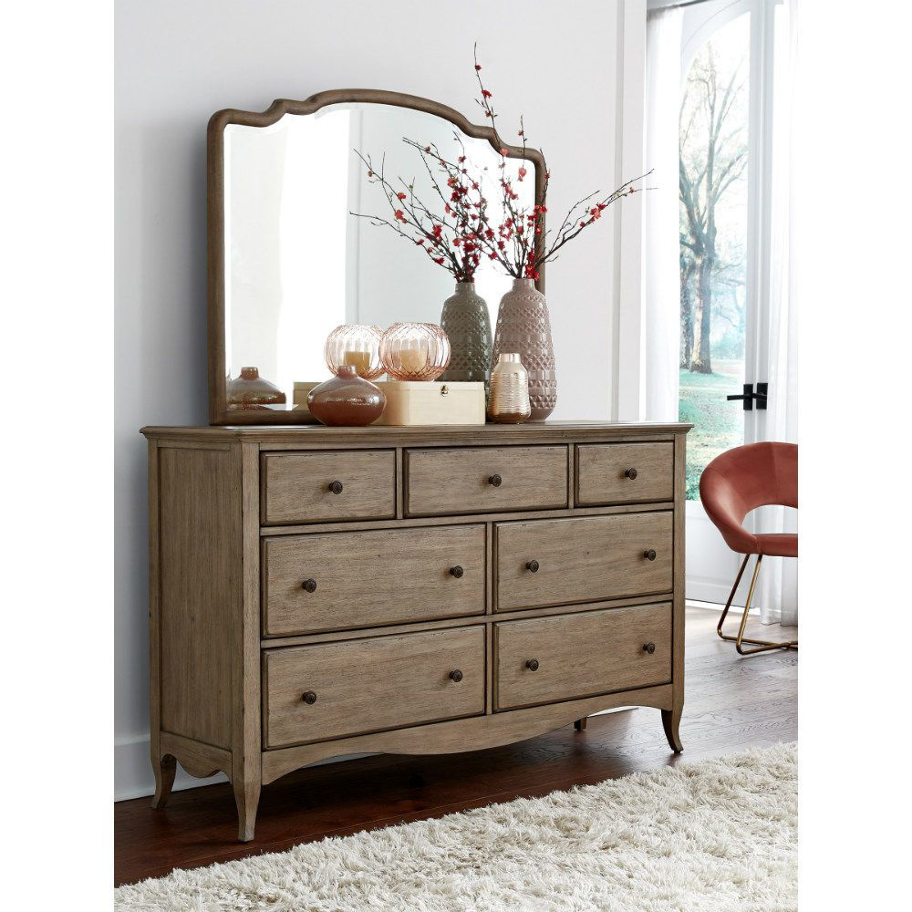 Provence Dresser and Mirror - Lifestyle
