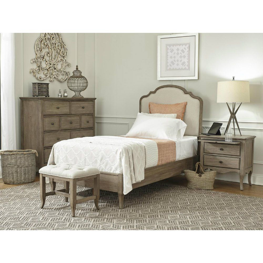 Provence Bed Bench - Twin Bed