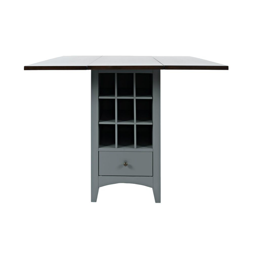 1816 Counter Table w/ Storage - Front