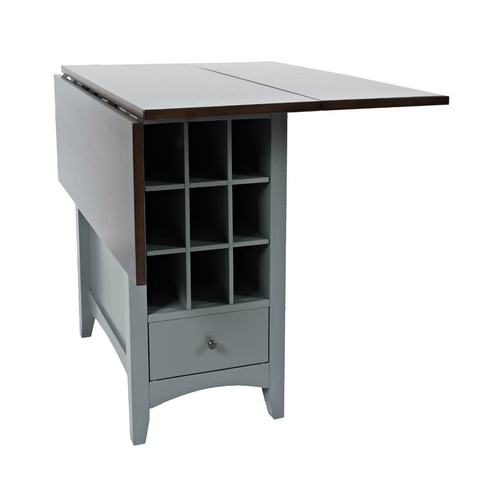 1816 Counter Table w/ Storage - Drop Leaf