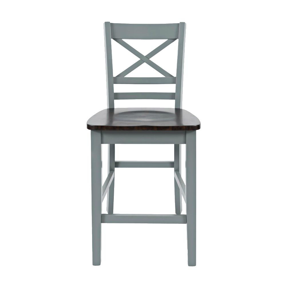 1816 Cross Back Stool - Front
