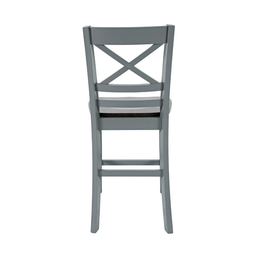 1816 Cross Back Stool - Rear