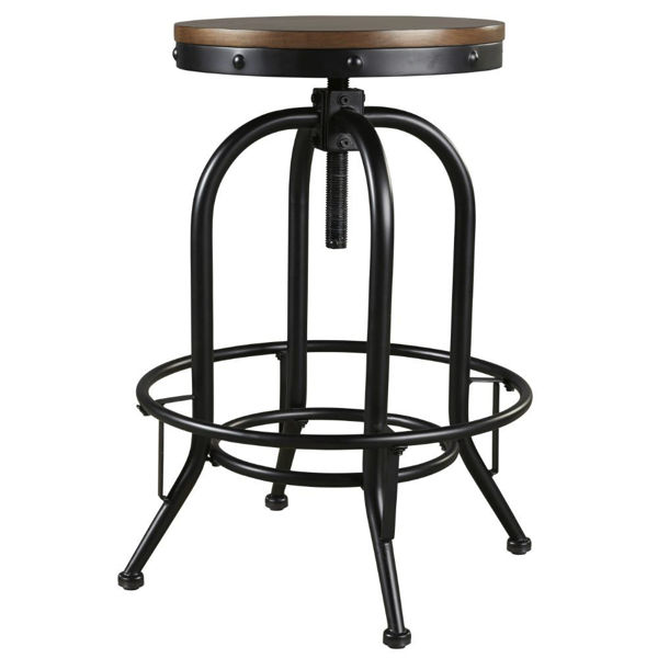 "Picture of Valebeck 30"" Swivel Stool"