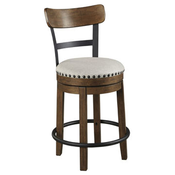 "Valebeck 24"" Stool - Brown"