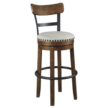 "Valebeck 30"" Stool - Brown"