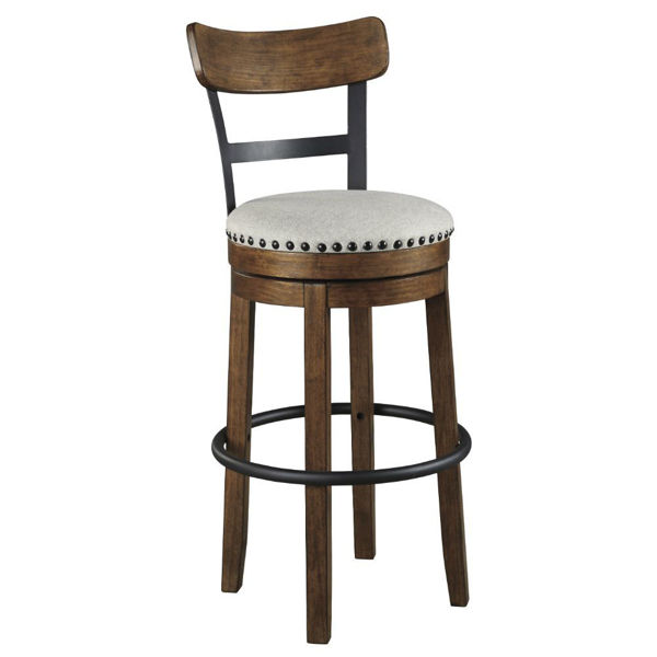 "Picture of Valebeck 30"" Stool - Brown"