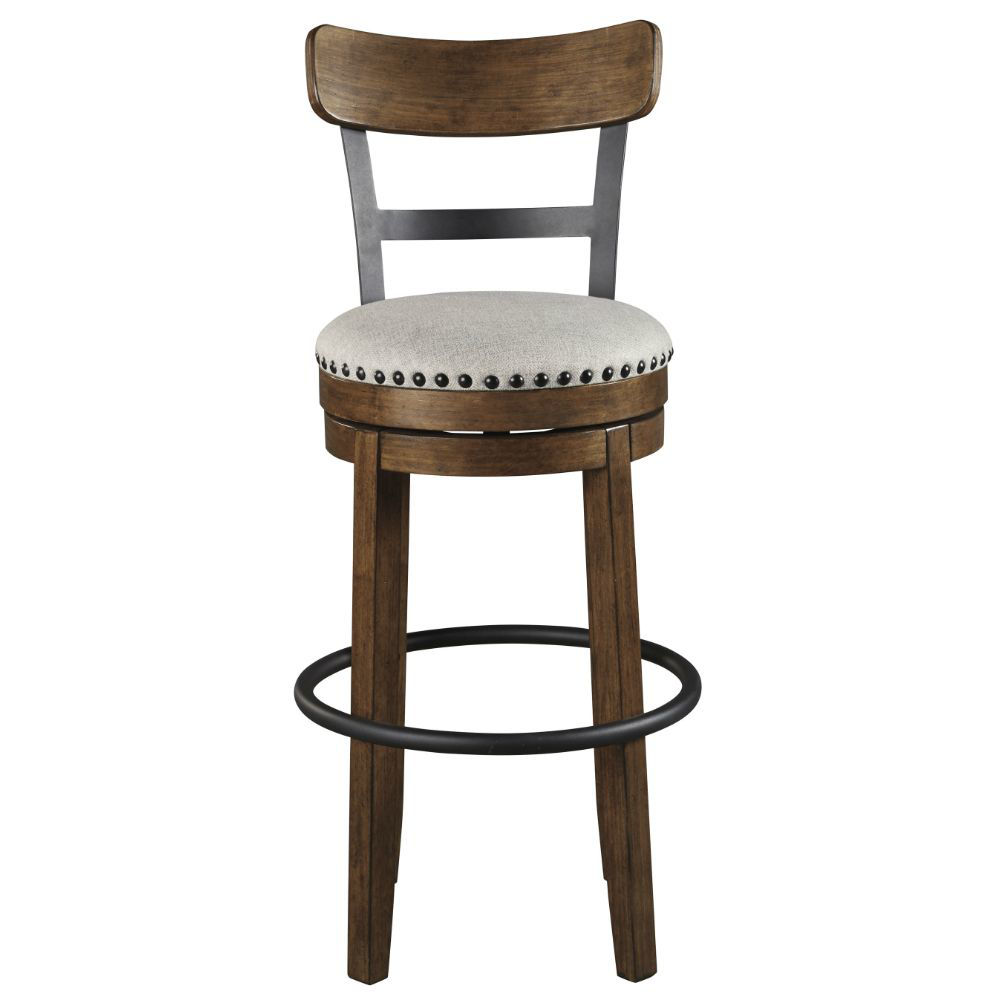 "Valebeck 30"" Stool - Brown - Front"