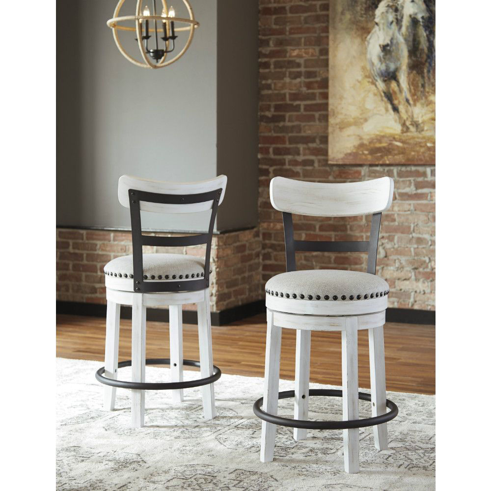 "Valebeck 24"" Stool - Lifestyle - Pair"