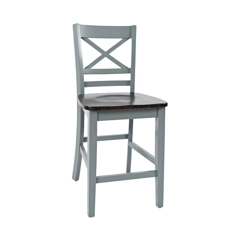 1816 Cross Back Stool