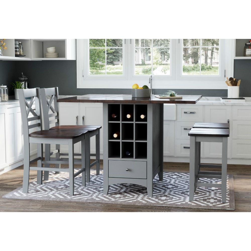 1816 5-Piece Counter Table and Stools